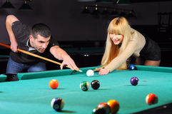 Billard Stockfotos