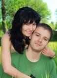 Junge Paare im Freien Lizenzfreies Stockbild