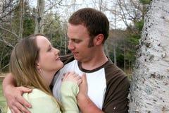 Junge Paare in Liebe 3 Lizenzfreie Stockbilder