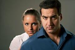 Junge Paare, Mann und Frau Stockfoto
