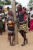 Junge Paare von Hamer-Stamm Lizenzfreie Stockbilder