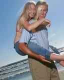 Junge Paarportraits Stockfotos