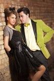 Junge reizende Paare Lizenzfreie Stockfotografie