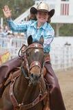Junge Rodeo-Königin - Schwestern, Oregon-Rodeo 2011 Lizenzfreie Stockbilder
