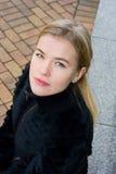 Junge russische Frau stockbilder