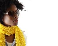 Junge südafrikanische Frau stockfoto