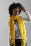 Junge südafrikanische Frau. Lizenzfreies Stockfoto