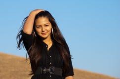 Junge schöne asiatische Frau Lizenzfreies Stockbild