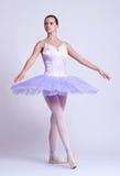 Junge schöne Ballerina lizenzfreies stockbild