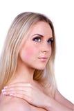 Junge schöne blonde Frau Lizenzfreie Stockfotografie