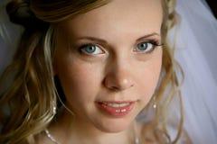 Junge schöne Braut Stockfoto