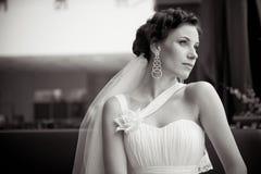 Junge schöne Braut Lizenzfreies Stockfoto