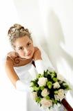 Junge schöne Braut stockfotografie