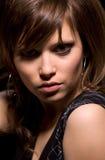 Junge schöne Frau Stockfoto