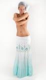 Junge schöne Frau in der Unterwäsche Lizenzfreie Stockfotos