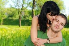 Junge schöne Paare Lizenzfreie Stockbilder