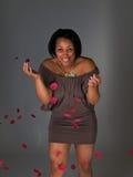 Junge schwarze Frau Lizenzfreie Stockfotografie