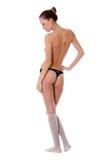 Junge sexy Frau in der Unterwäsche Lizenzfreies Stockbild