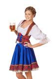 Junge sexy Oktoberfest-Frau Lizenzfreies Stockbild