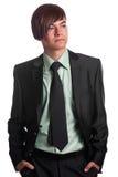 Junge sind ein erfolgreicher Geschäftsmann Lizenzfreies Stockbild