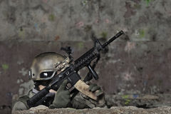 Junge Soldaten Lizenzfreie Stockbilder