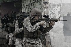 Junge Soldaten Stockfotos