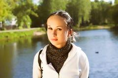 Junge sportliche Frau Lizenzfreie Stockfotos