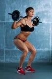 Junge sports Frau Stockfoto