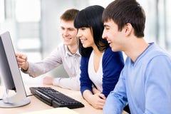 Junge Studenten lizenzfreies stockbild