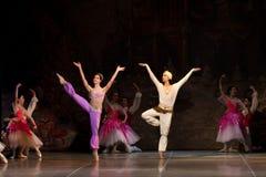 Junge Tänzerballerinen im klassischen Tanz der Klasse, Ballett stockbild