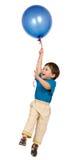Junge und Ballon Lizenzfreies Stockfoto