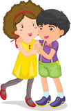 Junge und Mädchen Stockfotos