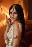 Junge und verlockende Kleopatra Lizenzfreie Stockfotos