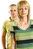 Junge unglückliche Paare Lizenzfreie Stockbilder