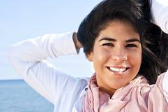 Junge Ureinwohnerfrau Stockfotos