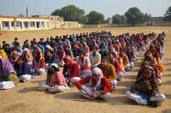 Junge von einer Dorfschule in Rajasthan, Indien Lizenzfreie Stockfotos