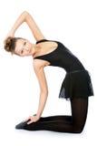 Junge wundervolle Ballerina Stockfotografie