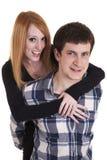 Junge zufällige Paare Lizenzfreies Stockbild