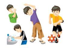Jungen-Abbildungen Stockfotos
