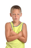 Jungen-Ausdruck Lizenzfreies Stockfoto