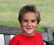 Jungen-Lächeln Lizenzfreies Stockbild