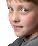 Jungen-Portrait Stockbild