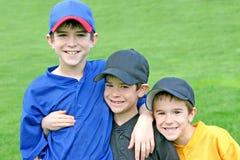 Jungen am Spiel-Tag Stockfoto
