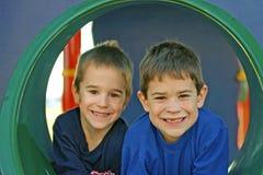 Jungen-Spielen Lizenzfreie Stockbilder