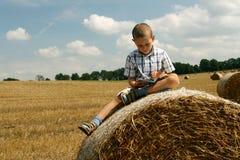 Jungenmesswert Lizenzfreie Stockfotografie