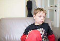 Jungenporträt Lizenzfreie Stockfotos