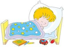 Jungenschlafen Lizenzfreie Stockbilder