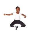 Junger afrikanischer Ballettjunge Stockfoto