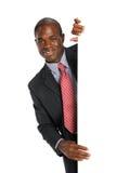 Junger Afroamerikaner-Geschäftsmann lizenzfreie stockfotos