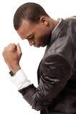 Junger afroer-amerikanisch Geschäftsmann Lizenzfreie Stockfotografie